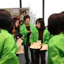 ホール担当は渋川地区 入念な打ち合わせの成果がバッチリ!