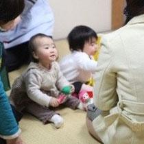 託児ももうけました ママたちも安心して観劇できました