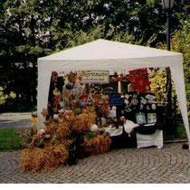Kreisgartentag in Oberkotzau 2002 - Unser Stand