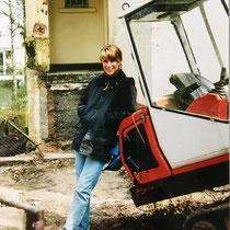 "Sonja Becher, Kernsanierung ""Villa Becher"" 1998/99 - Eingang EG, spätere Tagungsetage"