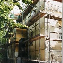 """Kernsanierung """"Villa Becher"""" 1998/99 - Fassade"""