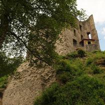 Blick auf den Wohnturm