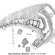 Grundriß nach K.A. Koch ca. 1908