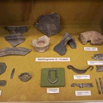 Funde Ruine Waseneck