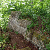 Reste der Schildmauer