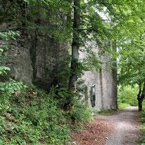 Fußweg Richtung Talhausen