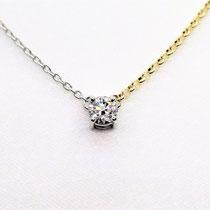 PT /K18 ダイヤペンダント