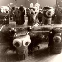 Püppchen aus Korken