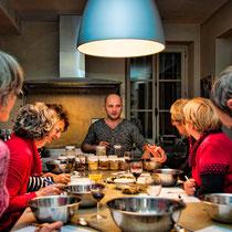 Épicerie / cours de cuisine / nancy - artisan epicier - julien burtez