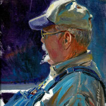 """Great Character"" 9 x 12 oil *Accepted into Oil Painters of America Western Regional 2015"
