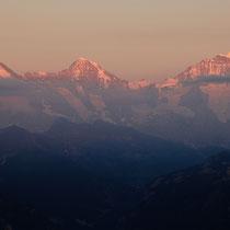 Eiger, Mönch u. Jungfrau 21:10 Uhr