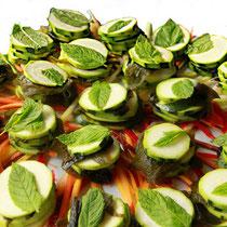 bouchées vertes