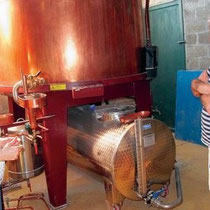 Visite du Domaine Pautier - EARL de La Romède à Veillard (BOURG-CHARENTE) - Pineau des Charentes - Jus de raisin pétillant - Chocolats au Pineau des Charentes