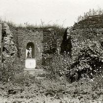 Quelle: Stadtarchiv, Kapelle mit Madonnen-Altar im Koblenzer Turm