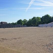 """Grabungsbereich und Bauschutt-Deponie als """"Diffuse Staubquellen"""", Aufnahme-Datum: 21.05.2017"""