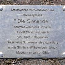 Standort Homberg Augusta-Straße, Grünanlage vor dem Bürgerhaus,  Aufnahme-Datum: 18.09.2019