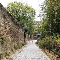 Blick entlang der Stadtmauer, Aufnahme-Datum: 11.11.2005