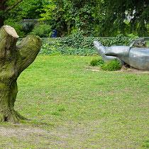 Skulptur mit gekappter Hainbuche, Aufnahme-Datum: 23.04.2017