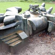 Skulptur im Regen, Aufnahme-Datum: 24.02.2016