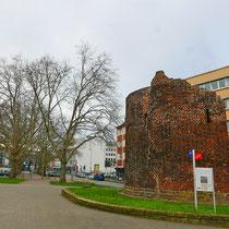 Der Schäferturm ohne Baumbestand, Aufnahme-Datum: 22.02.2020