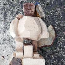 Skulptur aus Berg-Ahorn HK. 18.03.2017