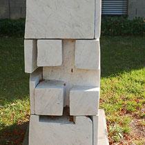 Stirnseite der Skulptur, Aufnahme-Datum: 14.09.2019