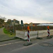 Blick vom Stapeltor über das Grabungsfeld, Aufnahme-Datum: 22.02.2020