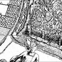 Detail aus dem Corputius-Plan zeigt den Abschnitt zwischen Stapeltor und Koblenzer Turm.