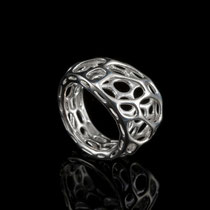 nervous system - 2 layer twist Ring