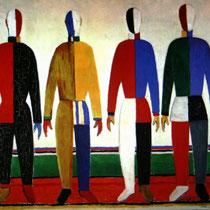 Казимир Малевич. Спортсмены. 1928-1932