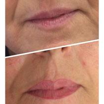 Permanent Make Up Lippen Lippenkontierung