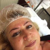 Permanent Make Up Lidstrich oben und unten und Augenbrauen Härchenzeichnung