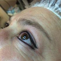 Permanent Make Up Lidstrich oben und unten