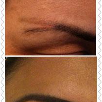 Korrekturarbeit! Permanent Make Up Augenbrauen