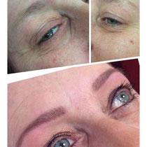 Permanent Make Up Augenbrauen und Augen