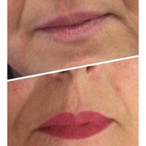 Permanent Make Up Lippen Vollschattierung