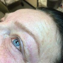 Permanent Make Up leichter Lidstrich unten
