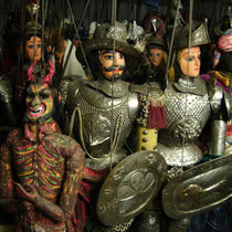 The Sicilian puppets