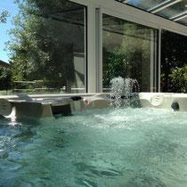 spas martinique en intérieur, fontaine aquarella