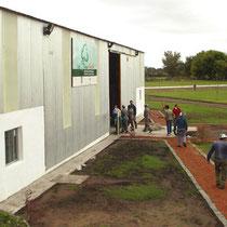 Planta de separacion de RSU en Las Flores