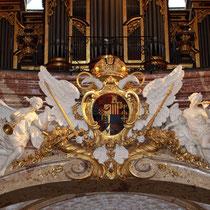 Karlskirche Wien Restaurierung Stuckmarmor und Stuck 2007-2008