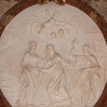Restaurierung Karlskirche Wien 2007-2008 Glanzstuckmedaillon