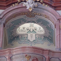 Stift Altenburg Stiftskirche Restaurierung Stuckmarmor 2003