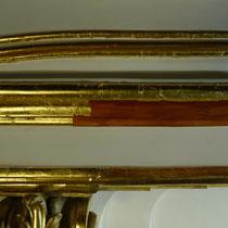 Schloss Schönbrunn Restaurierung Große Galerie 2010-2012 Vergoldung