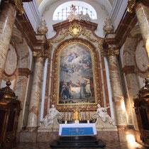 Karlskirche Wien Restaurierung Seitenaltäre 2007-2008