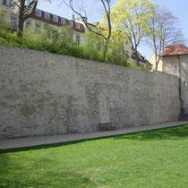 Die Stadtmauer Richtung Ost