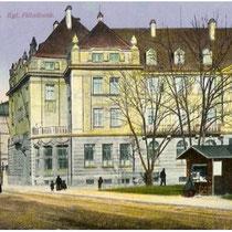 Schultesstraße Schweinfurt - königliche Filialbank um 1912