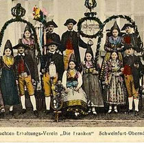 Trachtenverein Oberndorf um 1910