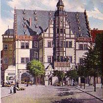 Rathaus um 1902