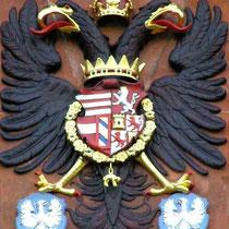 Das Wappen am Rathaus